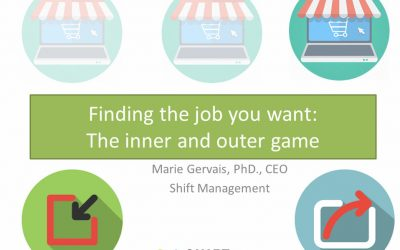 Finding the job you want: The inner and outer game